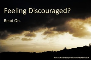 discouraged